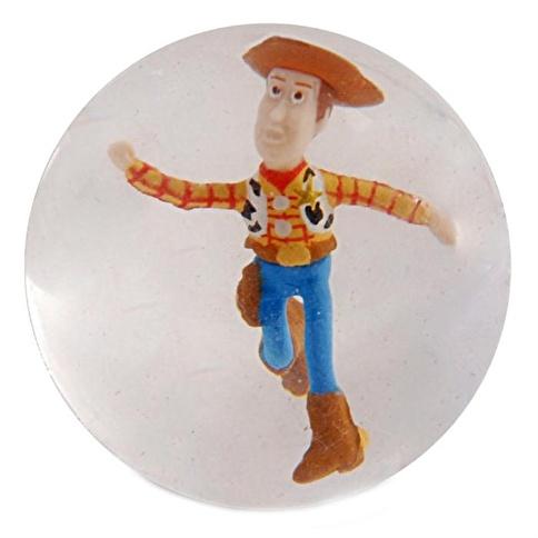 Disney Toy Story 3 Zıplayan Woody Figürlü Top Renkli